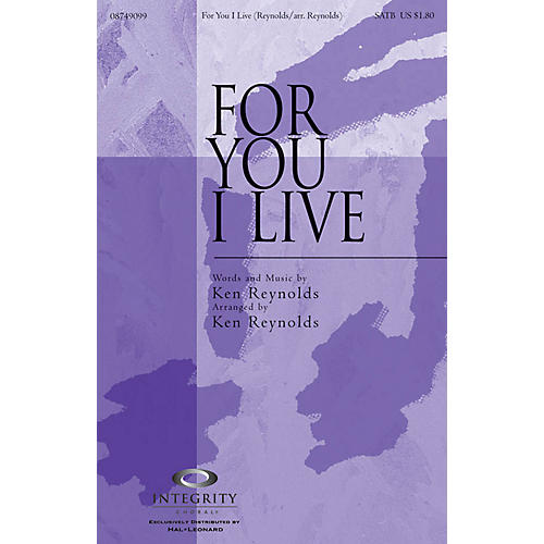 Integrity Music For You I Live SPLIT TRAX Arranged by Ken Reynolds-thumbnail