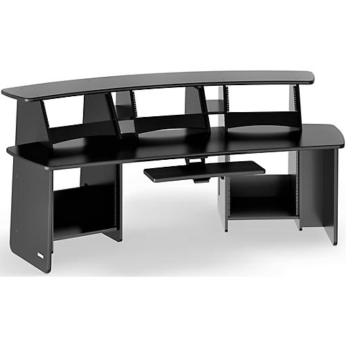 Omnirax Force 12 Professional Workstation Black