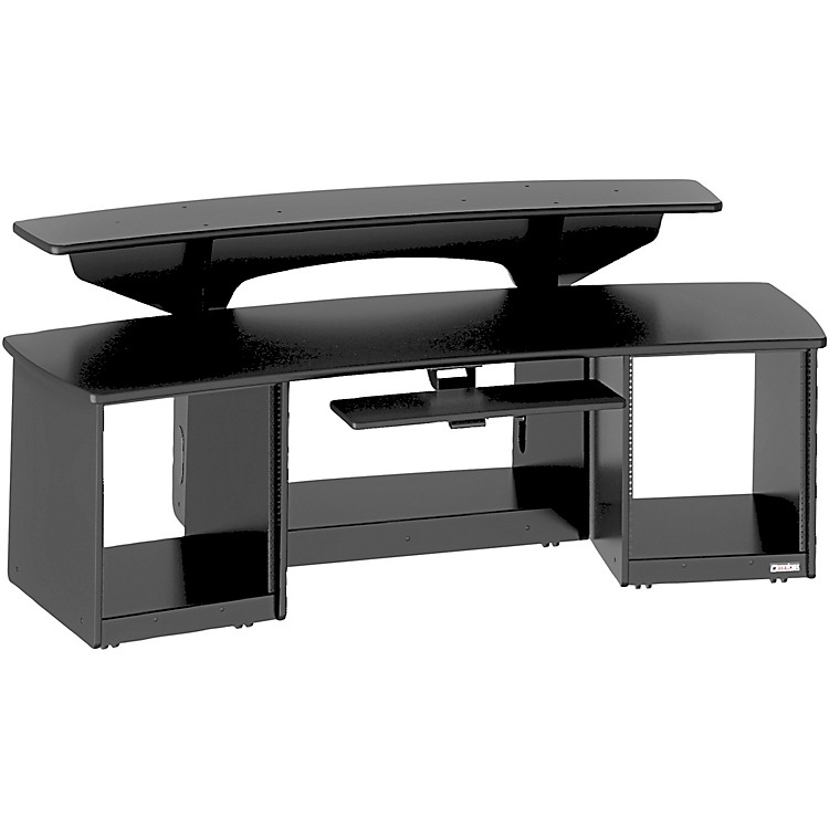 Omnirax Force 24 Studio Desk Black