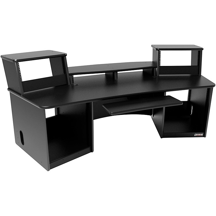 Omnirax Force 36 Audio/Video Workstation Black
