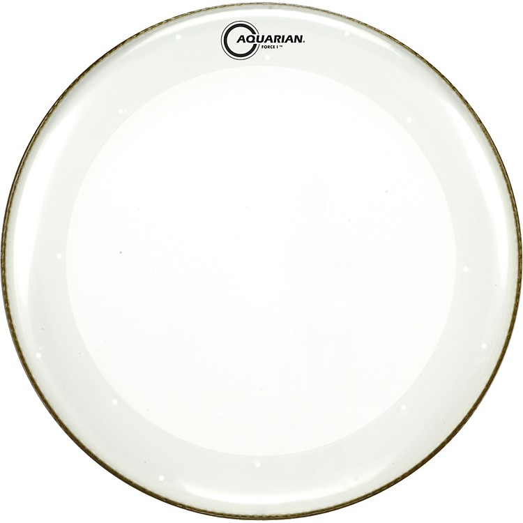 Aquarian Force I Bass Drum Batter Head Clear 20 Inch