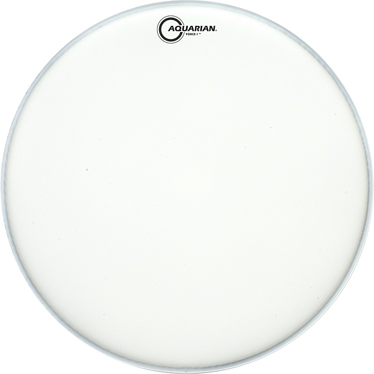 Aquarian Force I Texture-Coated Bass Drum Batter Head Clear 20 Inch