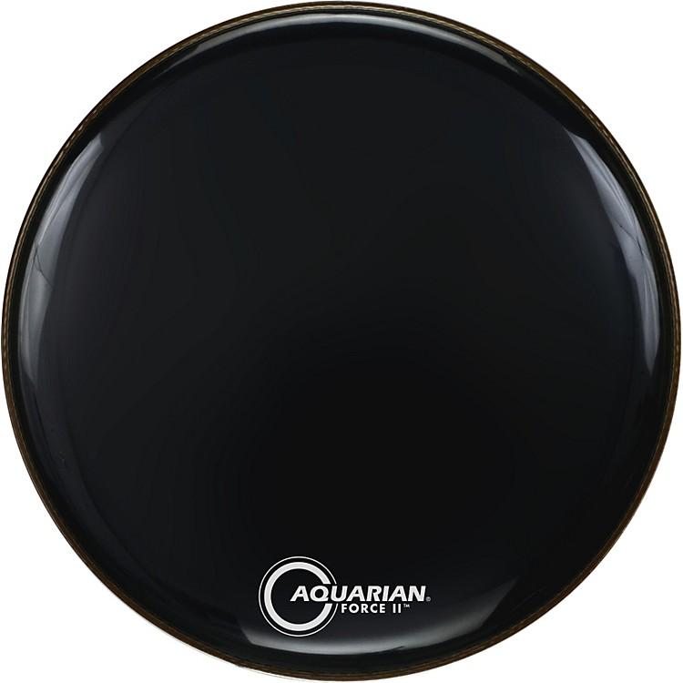 AquarianForce II Resonant Bass Drum HeadBlack22 Inch