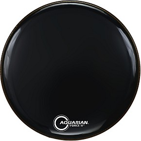 aquarian force ii resonant bass drum head musician 39 s friend. Black Bedroom Furniture Sets. Home Design Ideas