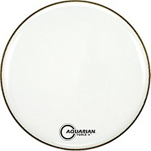 Aquarian Force II Resonant Bass Drum Head