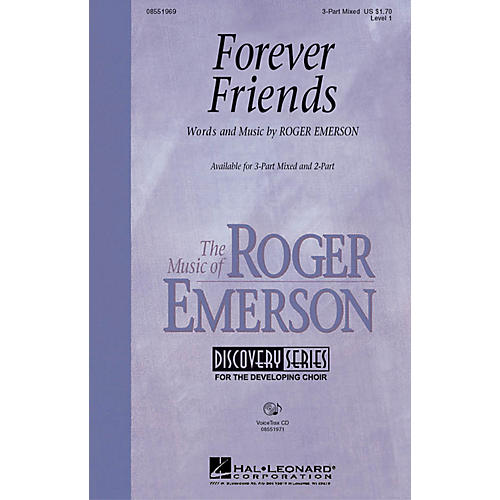 Hal Leonard Forever Friends VoiceTrax CD Composed by Roger Emerson