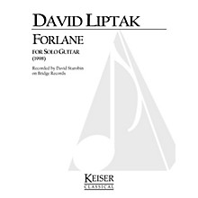 Lauren Keiser Music Publishing Forlane (Guitar Solo) LKM Music Series Composed by David Liptak