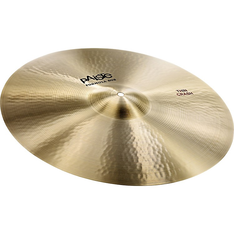 Paiste Formula 602 Series Crash 18 inch Thin