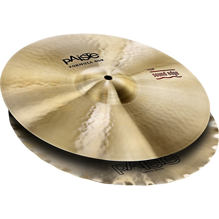 Paiste Formula 602 Series Sound Edge Hi-Hats 14 inch