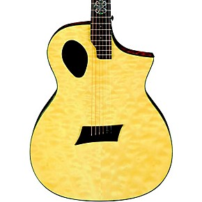 michael kelly forte port x offset soundhole cutaway acoustic electric guitar musician 39 s friend. Black Bedroom Furniture Sets. Home Design Ideas