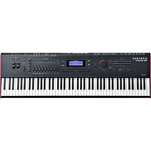 Kurzweil Forte SE 88-Key Piano with 2 GB of memory Black