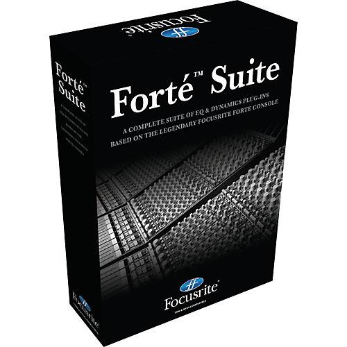 Focusrite Forte Suit TDM and RTAS Plug-In