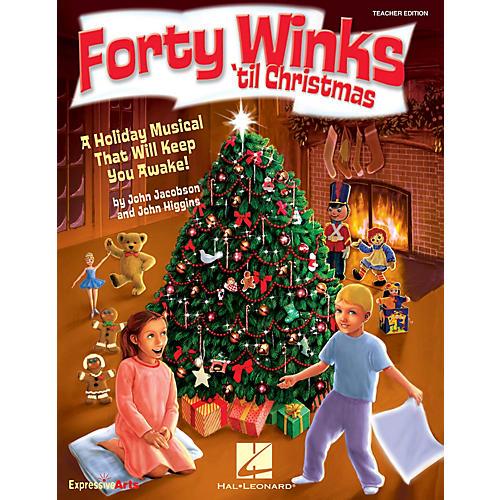 Hal Leonard Forty Winks 'Til Christmas (A Holiday Musical That Will Keep You Awake!) CLASSRM KIT by John Higgins-thumbnail