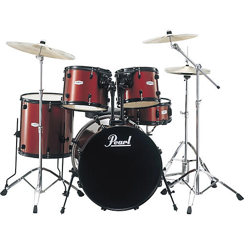 Pearl Forum 5-Piece Drum Set with Meinl Cymbals and SP Hardware-thumbnail