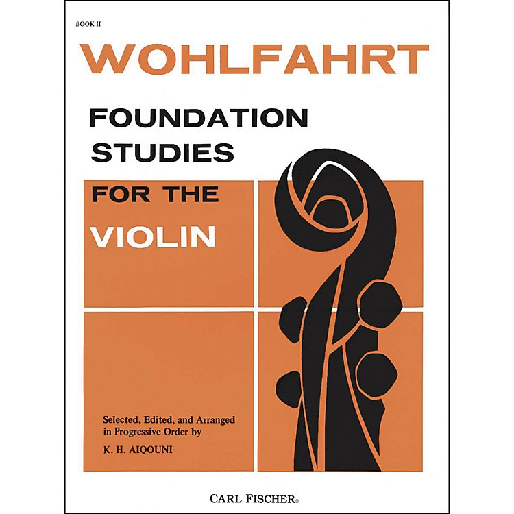 Carl Fischer Foundation Studies For The Violin Book 2