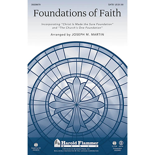 Shawnee Press Foundations of Faith Brass Accompaniment Arranged by Joseph M. Martin-thumbnail