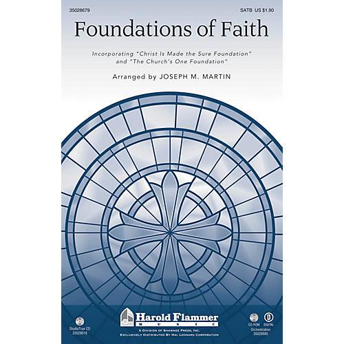 Shawnee Press Foundations of Faith Studiotrax CD Arranged by Joseph M. Martin