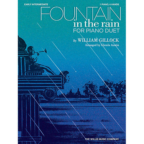 Willis Music Fountain in the Rain (1 Piano, 4 Hands/Early Inter Level) Willis Series by William Gillock-thumbnail