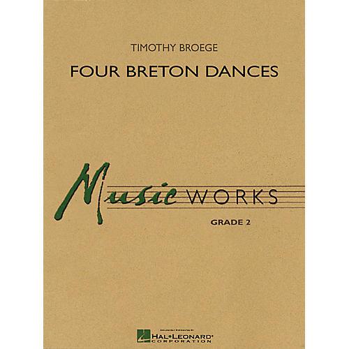 Hal Leonard Four Breton Dances Concert Band Level 2 Composed by Timothy Broege-thumbnail