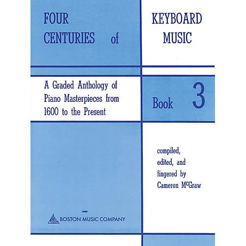 Music Sales Four Centuries Of Keyboard Music Book 3 Music Sales America Series-thumbnail