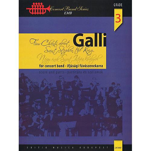 Hal Leonard Four Chants About Saint Stephen The King - EMB Concert Band Level 3-thumbnail