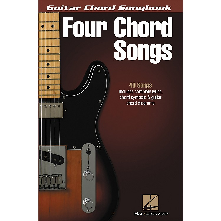 Hal Leonard Four Chord Songs - Guitar Chord Songbook
