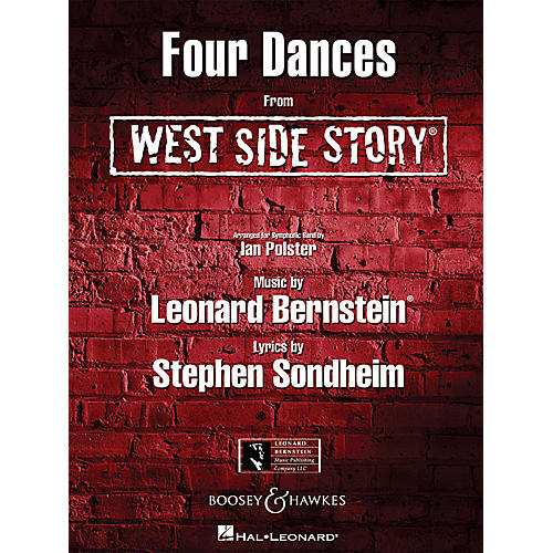 Hal Leonard Four Dances from West Side Story Concert Band Level 4-5 Arranged by Ian Polster-thumbnail