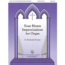 H.T. FitzSimons Company Four Hymn Improvisations for Organ - Volume I (Organ Solo)