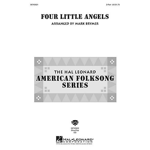 Hal Leonard Four Little Angels 2-Part arranged by Mark Brymer
