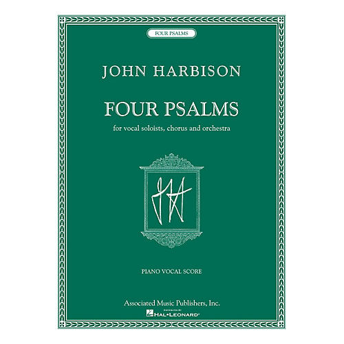 Associated Four Psalms (for Vocal Soloists, Chorus and Orchestra) composed by John Harbison-thumbnail