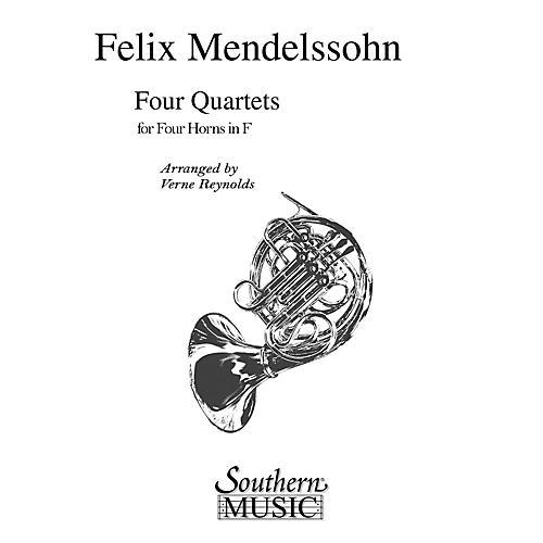 Southern Four Quartets (Horn Quartet) Southern Music Series Arranged by Verne Reynolds-thumbnail