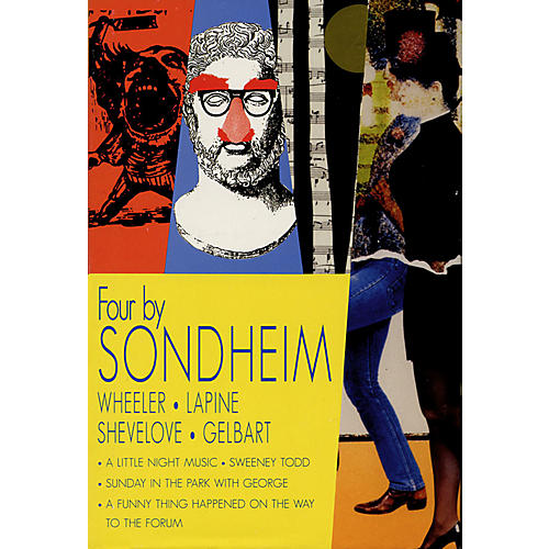 Applause Books Four by Sondheim Applause Books Series Hardcover-thumbnail