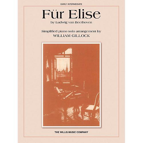 Willis Music Für Elise (Albumblatt) (Early Inter Level) Willis Series by Ludwig van Beethoven