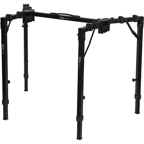 Gator Frameworks Adjustable T-Stand Folding Workstation