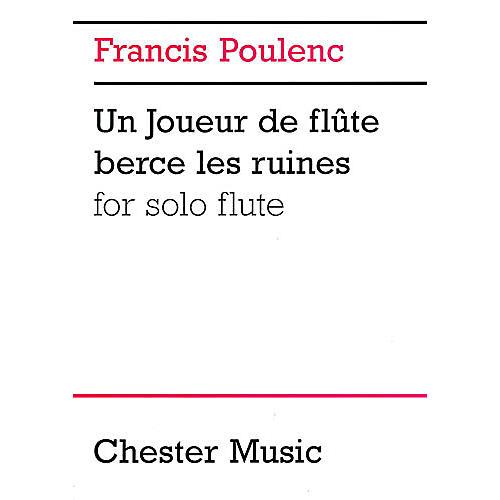 Music Sales Francis Poulenc: Un Joueur De Flute Berce Les Ruines For Solo Flute Music Sales America Series-thumbnail