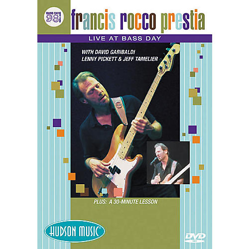 Hudson Music Francis Rocco Prestia - Live at Bass Day 1998 (DVD)