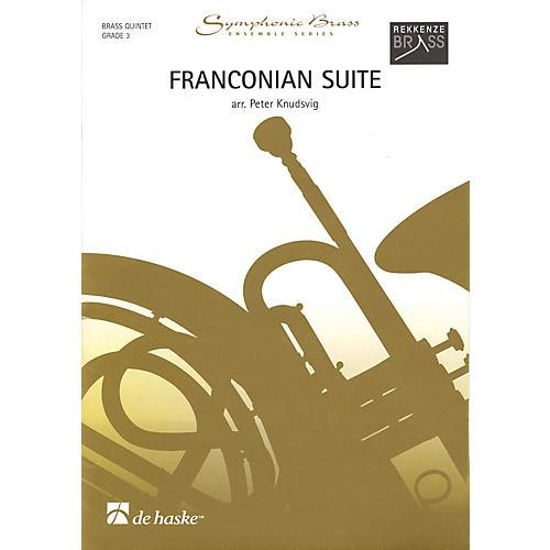De Haske Music Franconian Suite (Brass Quintet Grade 3) De Haske Ensemble Series Arranged by Peter Knudsvig-thumbnail