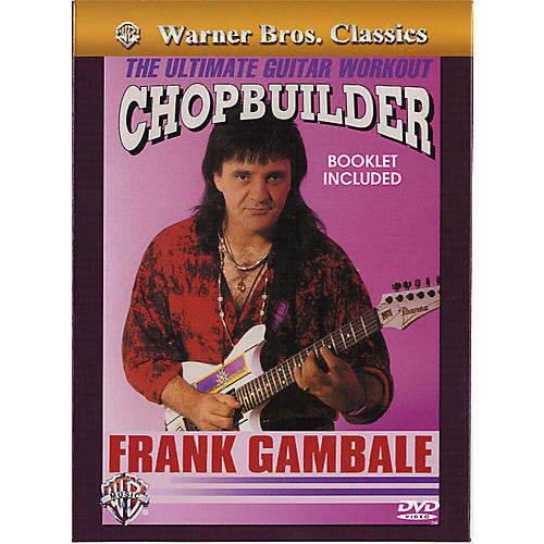 Alfred Frank Gambale - Chopbuilder The Ultimate Guitar Workout DVD-thumbnail