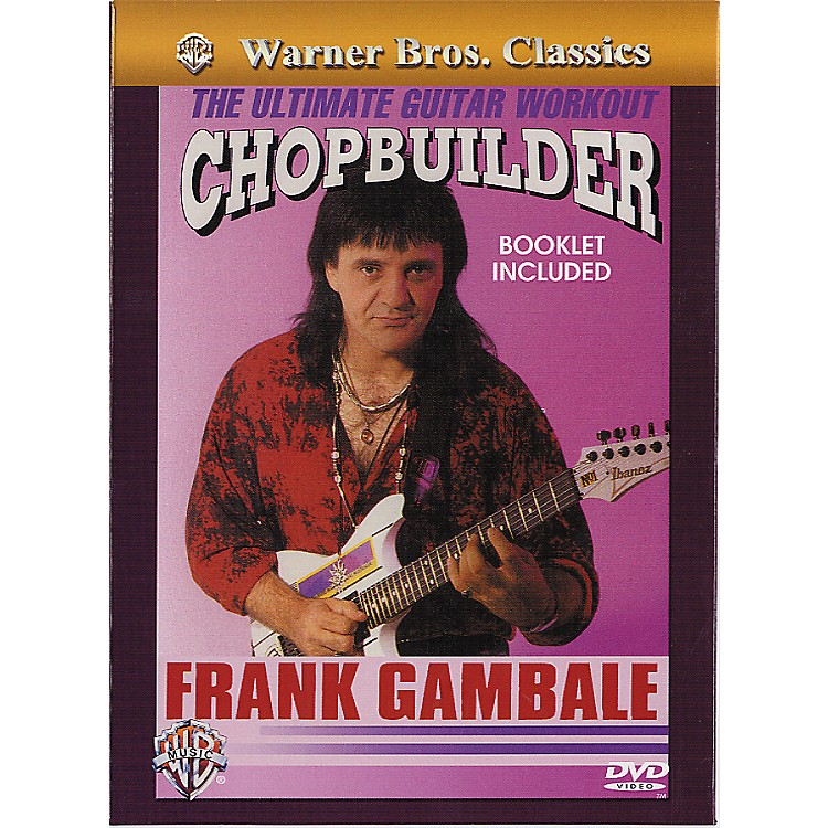 Alfred Frank Gambale - Chopbuilder The Ultimate Guitar Workout DVD