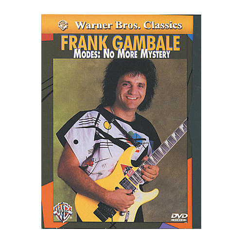 Alfred Frank Gambale - Modes No More Mystery DVD