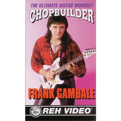 Alfred Frank Gambale Chop Builder DVD-thumbnail
