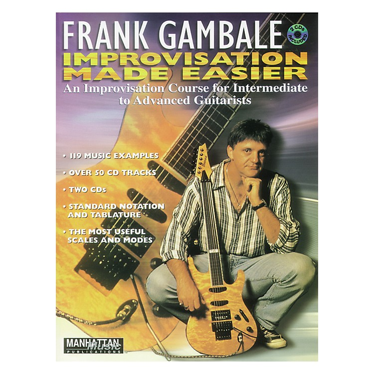 Alfred Frank Gambale Improvisation Made Easy (Book and 2 CDs)