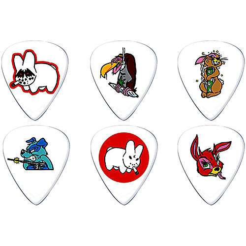 Dunlop Frank Kozik Design Guitar Picks 6 Pack