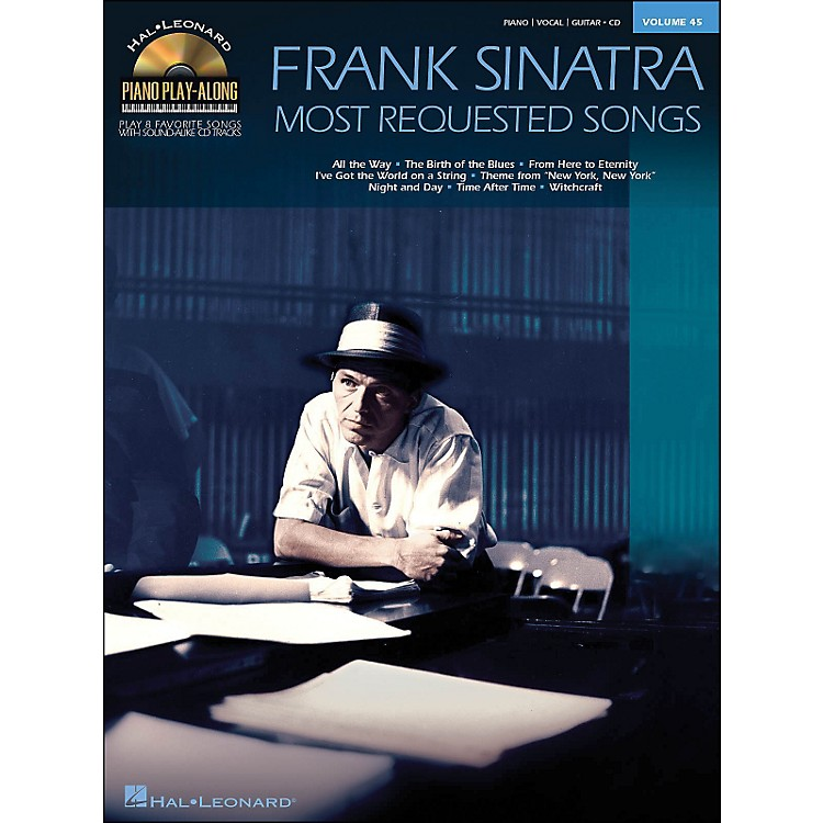 Hal LeonardFrank Sinatra - Most Requested Songs Volume 45 Book/CD Piano Play-Along arranged for piano, vocal, and guitar (P/V/G)
