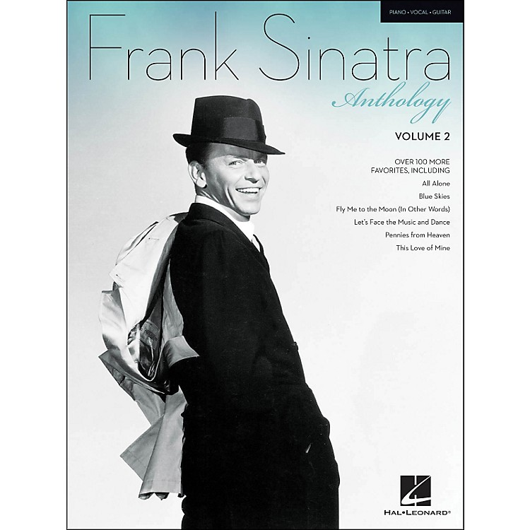 Hal Leonard Frank Sinatra Anthology Vol. 2 arranged for piano, vocal, and guitar (P/V/G)