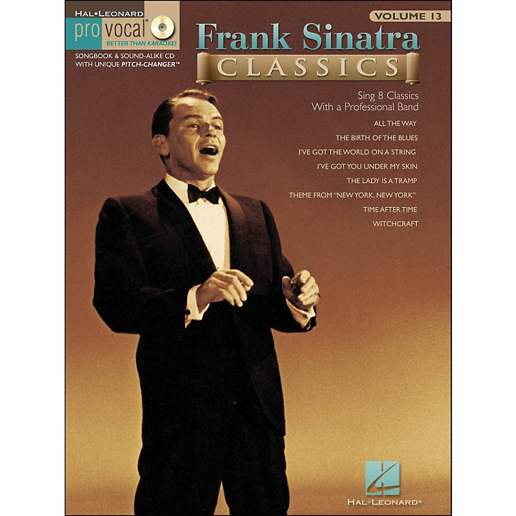 Hal LeonardFrank Sinatra Classics - Pro Vocal Songbook Volume 13 Book/CD