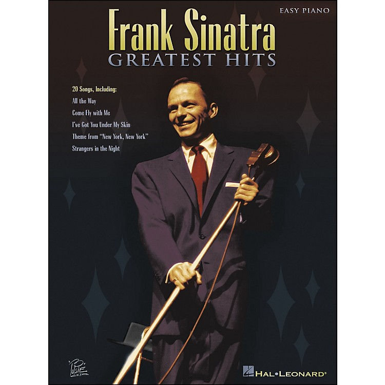 Hal Leonard Frank Sinatra Greatest Hits for Easy Piano