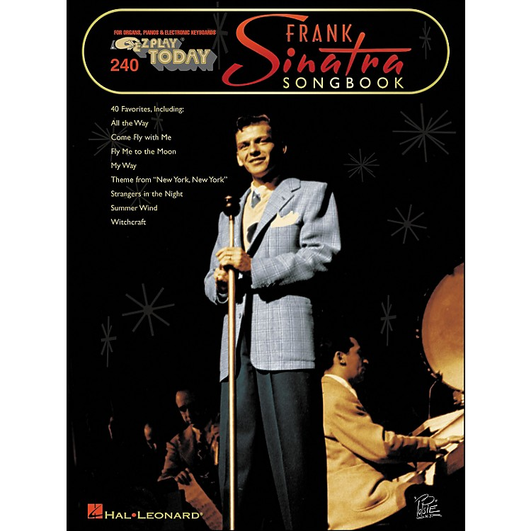 Hal LeonardFrank Sinatra Songbook E-Z Play 240