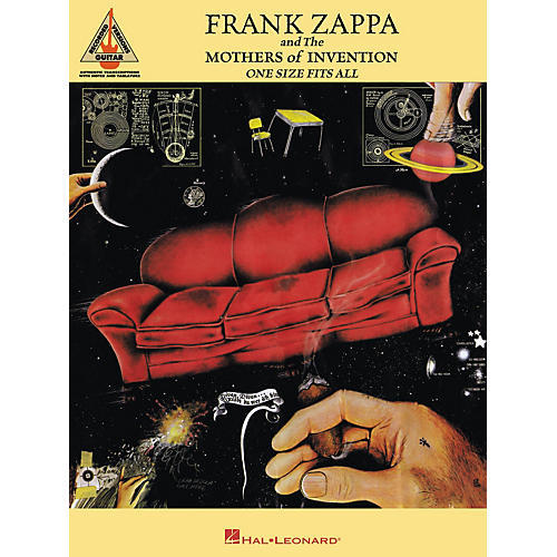 Hal Leonard Frank Zappa One Size Fits All