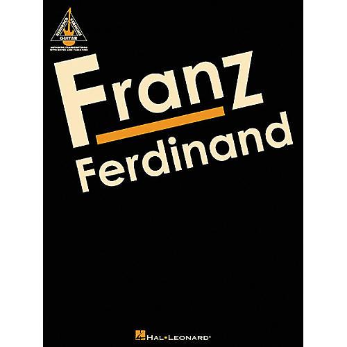 Hal Leonard Franz Ferdinand Guitar Tab Songbook